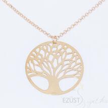 élet fája sárga arany nyakék