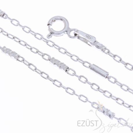 ezüst díszes nyakék