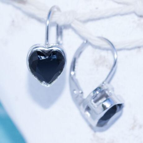 szív fülbevaló