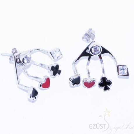 Póker, Francia Kártya Lapok, Fordított az az Kétoldalú fülbevaló( Ear Jacket)
