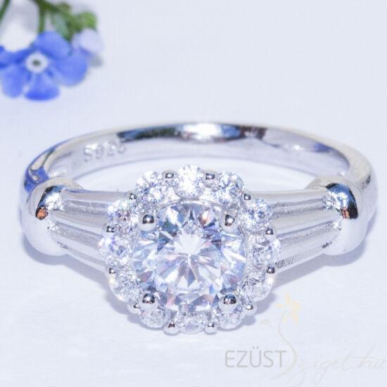 virág gyűrű