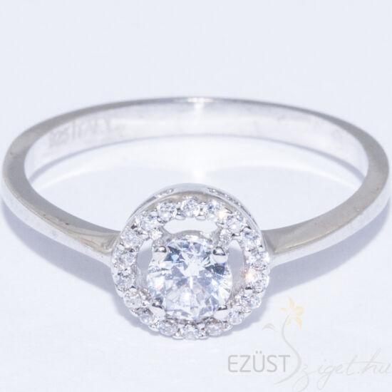 bb5abf288 Kerek Köves Gyűrű