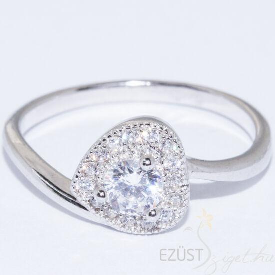 nagy köves koktél gyűrű