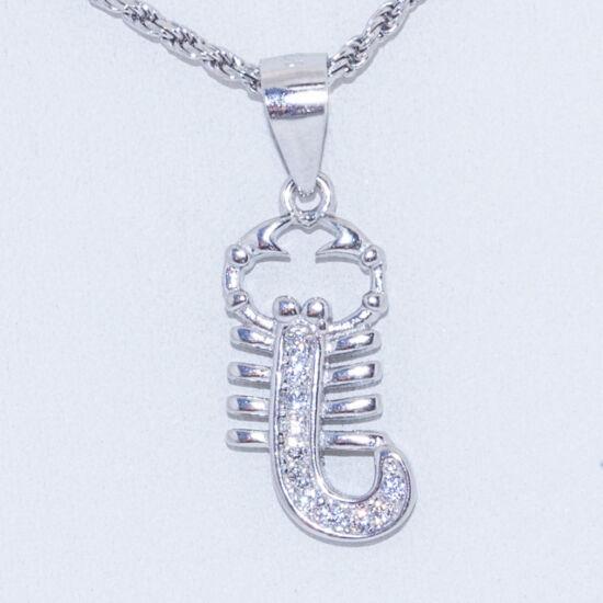 skorpió ezüst medál