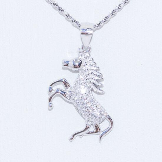 paripa ló ezüst medál