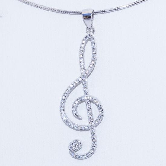 nagy violinkulcs ezüst medál