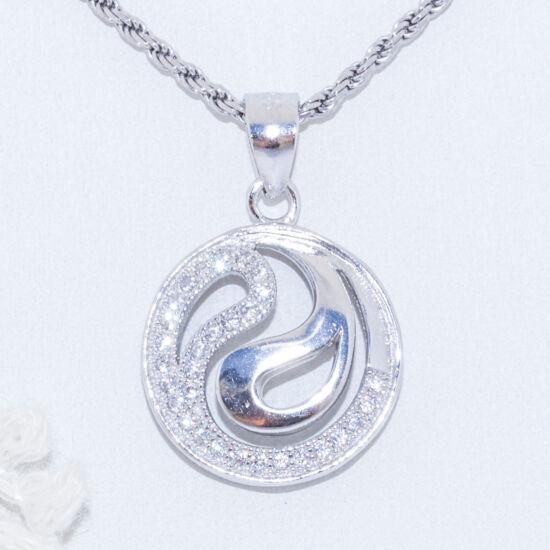 jin jang ezüst medál
