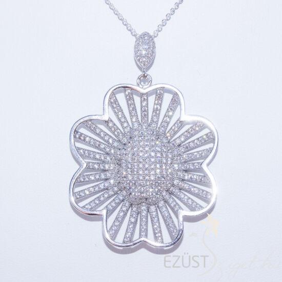 extra virág medál ezüst