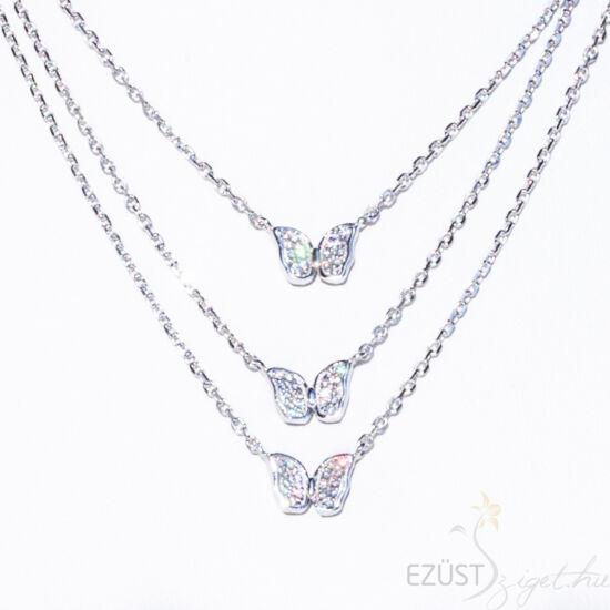 Pillangók, Köves Három soros nyakék