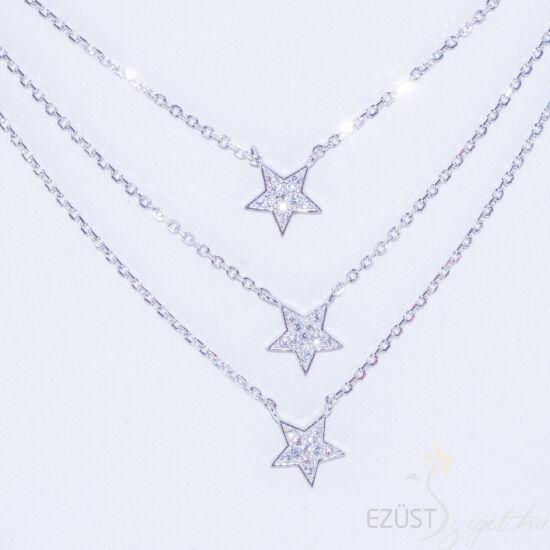 Csillagok Három Soros Nyakék