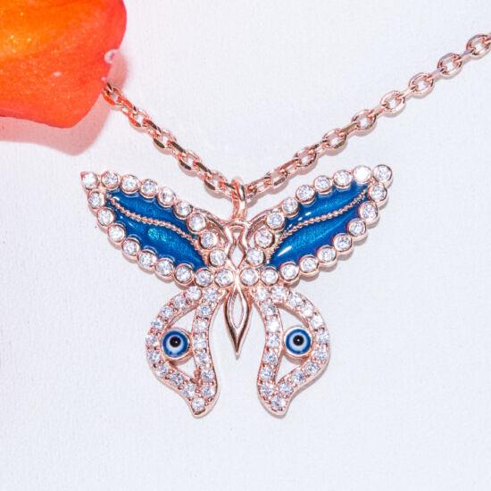 pillangó nyakék