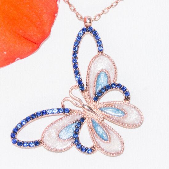 kék tűzzománc pillangó nyakék