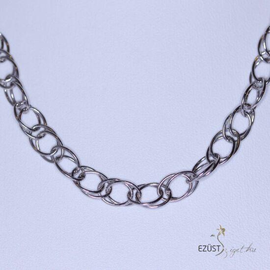 ezüst karikák nyaklánc