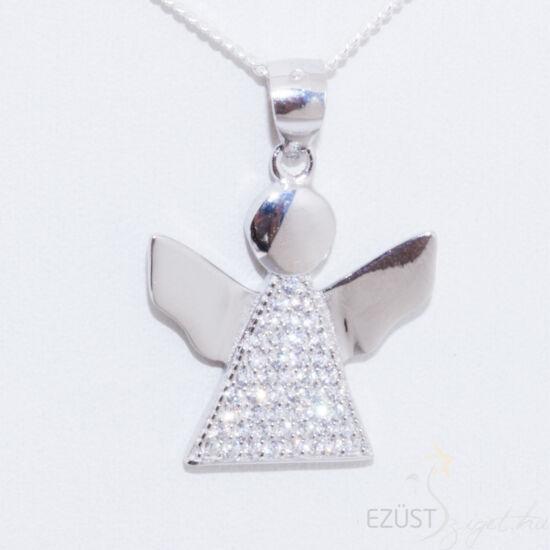angyal ezüst medál