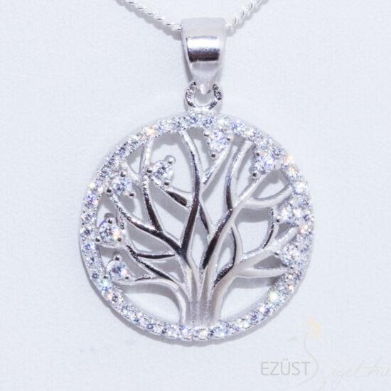 élet fája ezüst medál