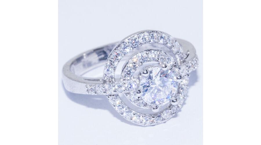 e77de2a73 Nagy köves gyűrű, 56-os